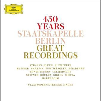 Box Set 450 Jahre Staatskapelle Berlin - 15 CDs