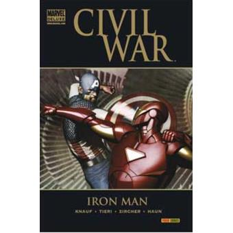 Iron Man. Civil war. Marvel deluxe