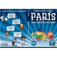 Cuadernillos de actividades. París para pequeños viajeros