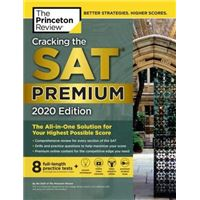 Cracking the SAT with 8 Practice Tests - Premium 2020 Edition