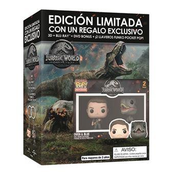 Jurassic World: El reino caído - Edición exclusiva 3D + Blu-Ray
