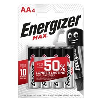 Pilas Energizer Max +Power AA BP4BR