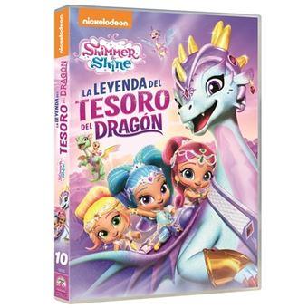 Shimmer & Shine: La Leyenda del Tesoro del Dragón - DVD
