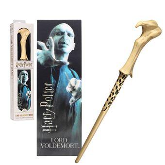 Réplica Harry Potter: Varita Lord Voldemort + Marcapáginas