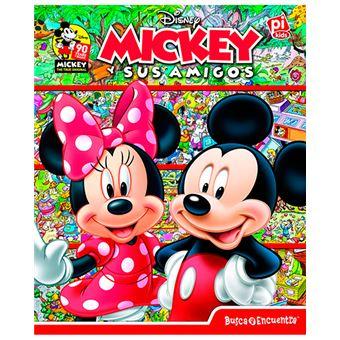 Busca y Encuentra - Mickey y sus amigos
