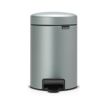 Cubo de basura con pedal Brabantia NewIcon 3 L Mint