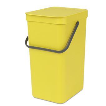 Cubo de basura Brabantia Sort & Go 16 L Amarillo