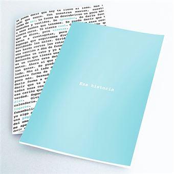 Pack 2 cuadernos cosidos Defreds Palabras