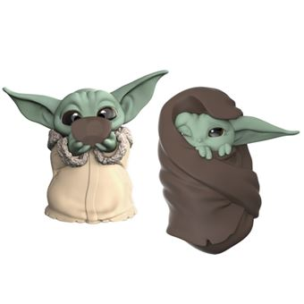 Pack de figuras Star Wars Baby Yoda The Child sopa y mantita