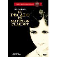 El pecado de Madelon Claudet - DVD