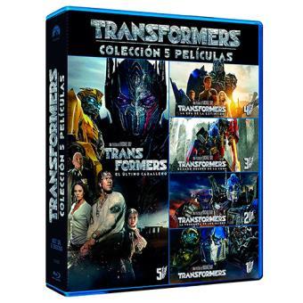 Pack Transformers - Blu-Ray