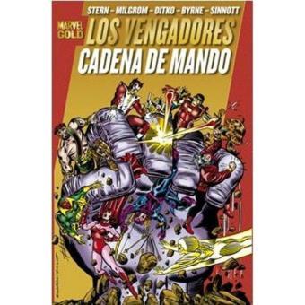 Los Vengadores 5. Cadena de oro. Marvel Gold