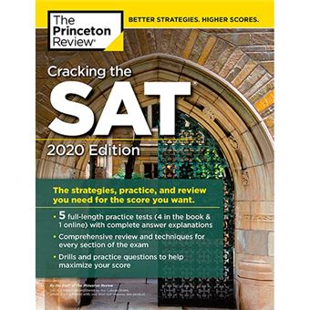 Cracking the SAT With 5 Practice Tests - 2020 Edition