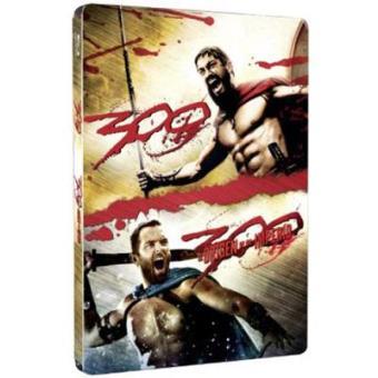Pack 300 + 300: El origen de un imperio - Steelbook Blu-Ray