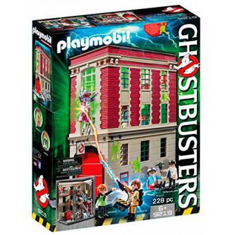 Playmobil Cazafantasmas Cuartel parque de bomberos