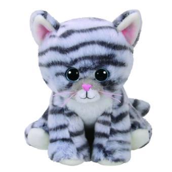 Peluche Beanie Boos Gato Millie Gris (15 cm)