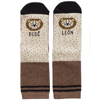 UO Mini Calcetines Bebé León - Talla 15-18