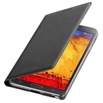 Samsung Flip Wallet Funda para Galaxy Note 3 color negro