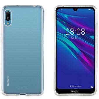 Funda Muvit Cristal Soft Transparente para Huawei Y6 2019