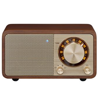 Radio Portátil Bluetooth Sangean SWR7 Nogal