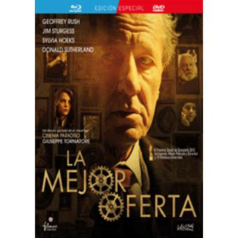 La mejor oferta - Blu-Ray + DVD