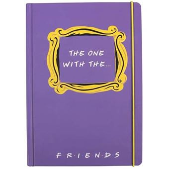 Cuaderno Friends A5 rayas The One With The...