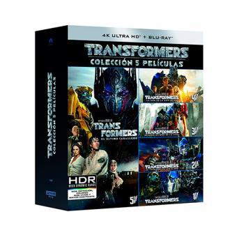 Pack Transformers - UHD + Blu-Ray