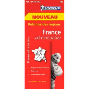 Mapa National: Francia Administrativa 2017