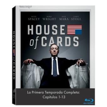 House of CardsHouse Of Cards  Temporada 1 - Blu-Ray