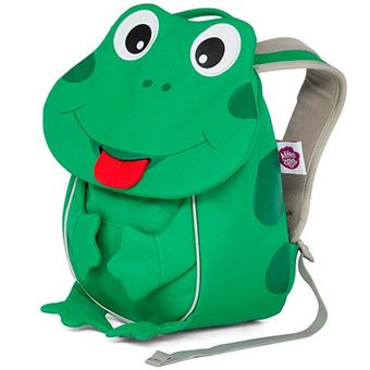 Mochila infantil pequeña Finn la rana verde
