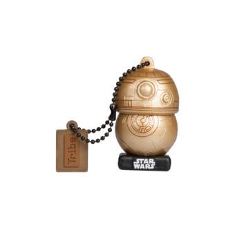 Memoria USB Tribe Star Wars BB-8 Dorado 16GB