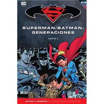 Batman y Superman Colección Novelas Gráficas 58 - Generaciones 3