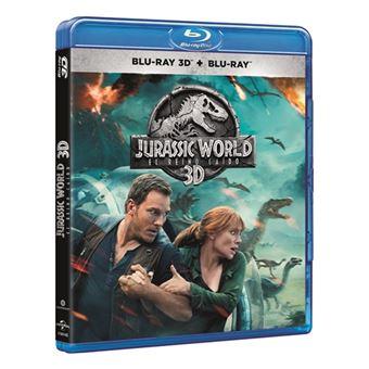 Jurassic World: El reino caído - 3D + Blu-ray
