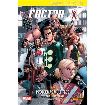Marvel Collection - Investigaciones Factor-X 2 - Problemas múltiples