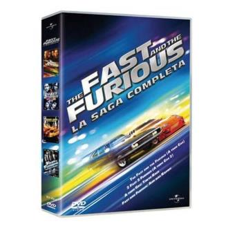 Pack The Fast And The Furious: La saga completa - DVD