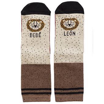 UO Mini Calcetines Bebé León - Talla 19-22