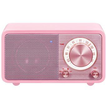 Radio Portátil Bluetooth Sangean SWR7 Rosa