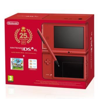 Pack Especial Nintendo DSi XL Super Mario 25 Aniversario