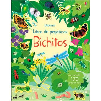 Libro de pegatinas - Bichitos