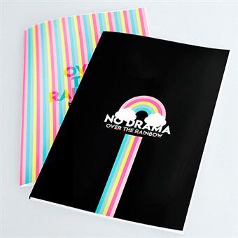 Pack 2 cuadernos cosidos La Vecina Rubia arcoíris