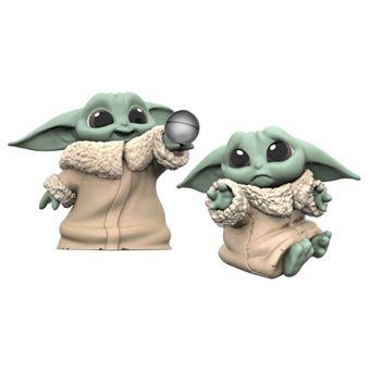 Pack de figuras Star Wars Baby Yoda The Child pelota y abrazar