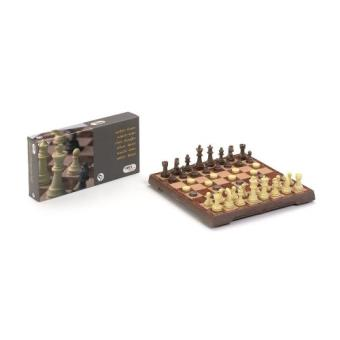 Juegos ajedrez + damas magnéticos