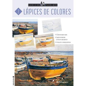 Lápices de colores. Ejercicios Parramón