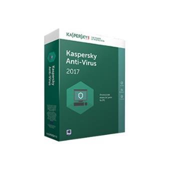 Kaspersky Anti-Virus 2017 1 Licencia 1 año