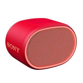 Altavoz Bluetooth Sony SRS-XB01 Rojo