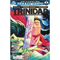 Batman/Superman/Wonder Woman: Trinidad núm. 01 - Renacimiento - 2a edición
