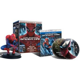 Pack The Amazing Spider-Man - Exclusiva Fnac - Blu-Ray 3D + 2D + Figura Spider-Man