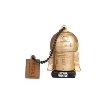 Memoria USB Tribe Star Wars R2-D2 Dorado 16GB
