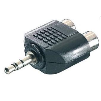 Vivanco Adaptador 2 RCA - 3,5 mm