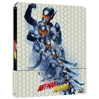 Ant-Man y la Avispa - Steelbook Blu-Ray + 3D